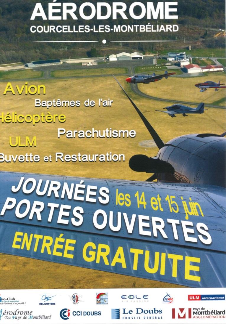 Portes Ouvertes De L'aérodrome à Montbéliard LFSM